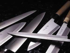 Заточка для японских кухонных ножей
