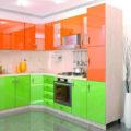 Оранжевые обои для стен: фото в интерьере кухни, прихожей, гостиной, спальни и детской