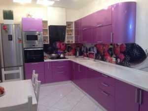 Кухни цвета фуксии - эффектные, кокетливые, чувственные и современные!