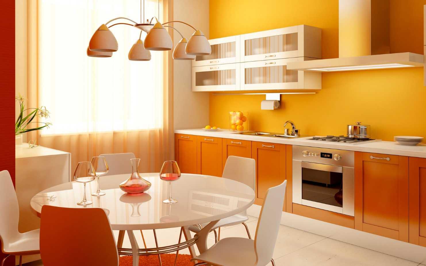 простые обои для кухни картинки готовы подобрать