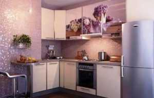 Обои для кухни - 105 фото дизайна, какие обои выбрать
