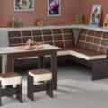 Кухонный уголок для маленькой кухни: критерии выбора, модели