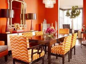 Персиковые обои (43 фото): какие цвета мебели и штор подходят к стенам в нежных тонах