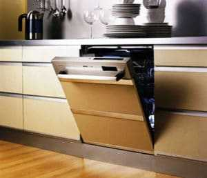 Каким должен быть размер шкафа под посудомоечную машину