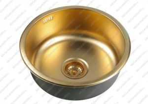 Мойка для кухни Zorg SZR-450 PVD bronze