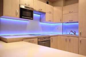Светодиодная подсветка для рабочей зоны кухни