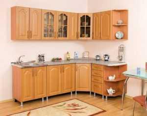 Как сделать угловую кухню своими руками: чертеж, размеры и установка