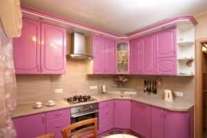 Комбинированные обои на кухне: фото дизайна интерьера   советы