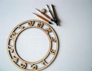 Как сделать часы на стену своими руками - MyProfnastil