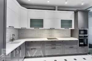 Высота фартука на кухне по стандарту, ширина и другие размеры кухонного фартука