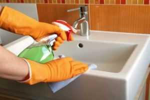 Чем отмыть керамическую раковину на кухне