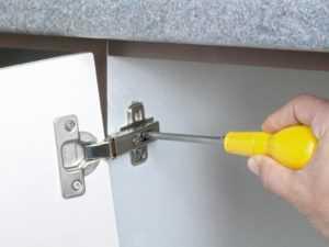 Установка мебельных петель: врезка своими руками