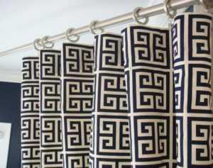 Греческие шторы: секреты идеального сочетания  фото примеры дизайна
