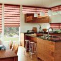 Шторы на кухню на одну сторону: дизайн - 15 фото