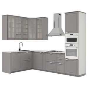 METOD МЕТОД Кухня - белый/Будбин серый - IKEA