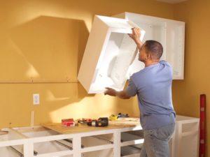 На какие дюбель гвозди вешать кухонные шкафы? - Все о кухне - от выбора материалов до бытовой техники