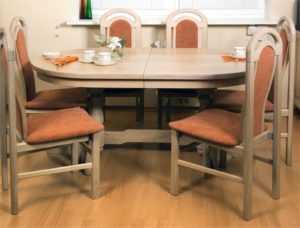 Размеры кухонного стола: стандартные габариты стола для кухни, высота и глубина, ширина и другие стандарты, как правильно подобрать
