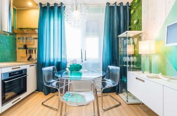 Как подобрать шторы на кухню, подбираем цвет штор для кухни