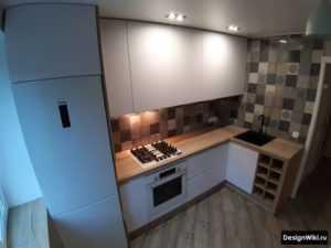 Кухонный гарнитур угловой с мойкой: фото дизайна кухни