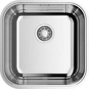 Мойка для кухни Premial 500х500 мм нержавеющая сталь 3 мм цвет сатин (PR5050) — купить в интернет-магазине OZON с быстрой доставкой