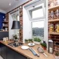 Кухня без верхних шкафов: 51 фото, лучшие идеи дизайна