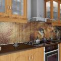 Обзор лучших материалов для кухонных фартуков на 2021 год