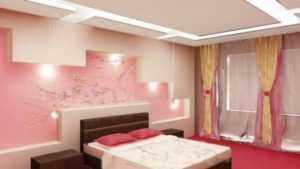 Спальня в розовых тонах - какие тюль, шторы и занавески подойдут к такому интерьеру?