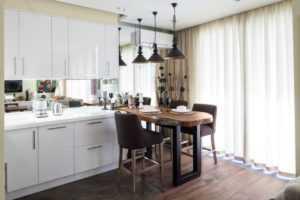 Купить шторы для кухни - Фото и каталог штор от салона Флёр