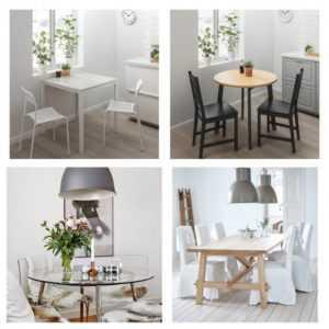 Стеклянный стол на кухне насколько практично? Белый стол из икеи насколько практично?