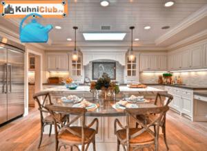 Точечные светильники на кухне: 50  фото примеров, как выбрать