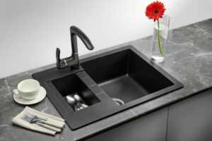 Мойки из искусственного и натурального камня на кухне: как выбрать и установить