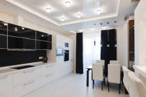 Точечные светильники на кухне: виды, характеристики, размещение и монтаж