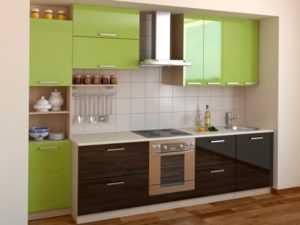 Прямая кухня своими руками: как рассчитать деталировку