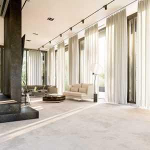 Карнизы для штор под натяжные потолки: какие гардины лучше выбрать - потолочные или настенные?