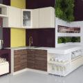 Угловой кухонный шкаф, особенности и основные преимущества