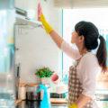 Как очистить кухонную мебель от жира и копоти. Советы и средства