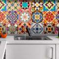 Фартук для кухни какой лучше выбрать материал и как подобрать цвет