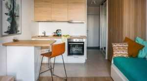 Кухня в квартире-студии - 99 фото удачной планировки и дизайнаКухня — вкус комфорта