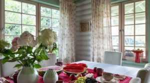 Шторы для дачи и загородного дома - фото примеров