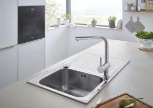 Размеры моек для кухни (28 фото): стандартные размеры кухонных раковин из искусственного камня и металлических моек, правила подбора параметров