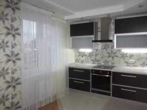Нитяные шторы на кухню - 75 фото модных идей штор в интерье