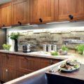 Освещение на кухне своими руками: как сделать светодиодное и другое украшение рабочей, а также обеденной зон, под шкафами?