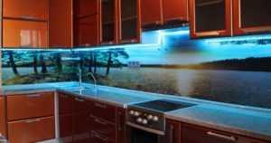 Как сделать подсветку фартука на кухне: виды крепления ленты, установки освещения и монтажа (110 фото идеального дизайна)