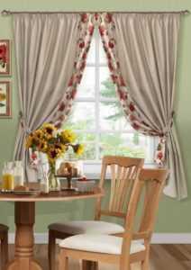 Занавески на кухню - 100 фото оригинального и красивого дизайна