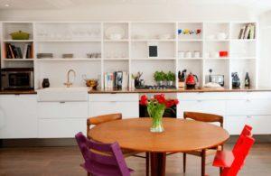 Стеллаж на кухню для бытовой техники: фото и видео кухонных полок