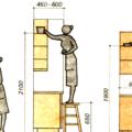 Вешаем шкафчики на кухне: ровно и без лишних мучений