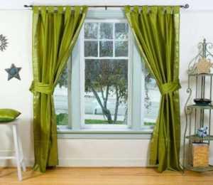 Зеленые шторы на кухню: какие подойдут под обои в интерьера