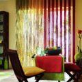 Нитяные шторы на кухню: кисея на кухне, варианты оформления интерьера | Дизайн и Фото
