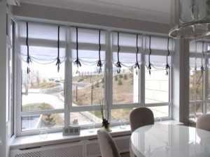 Шторы для кухни: фото реальных интерьеров кухни